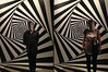 visual disturb in Escher museum - VladyArt - rome2014