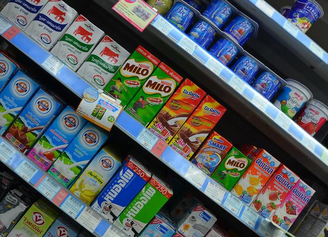 Supermercado en Bangkok
