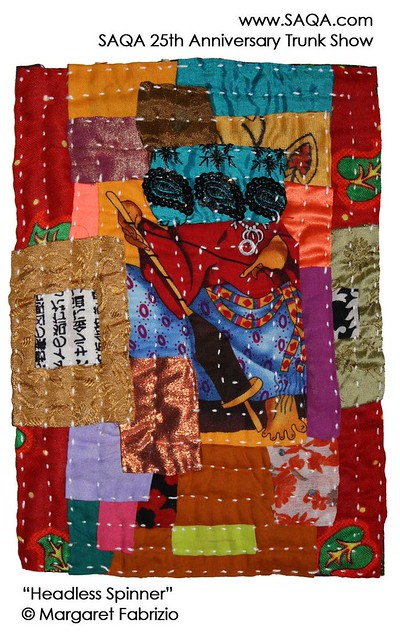 Art quilt by Margaret Fabrizio