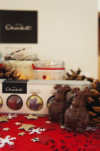 hotel chocolat styling challenge