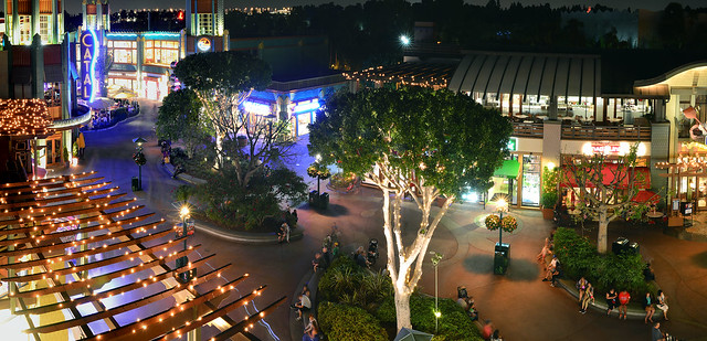 Grand Californian Looking over Downtown Disney
