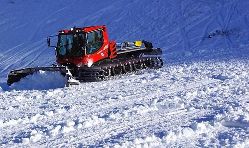 Alta snowcat using biodiesel