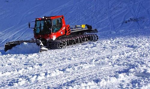 Alta snowcat using biodiesel