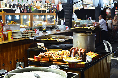 Fiesta food stall, Tenerife