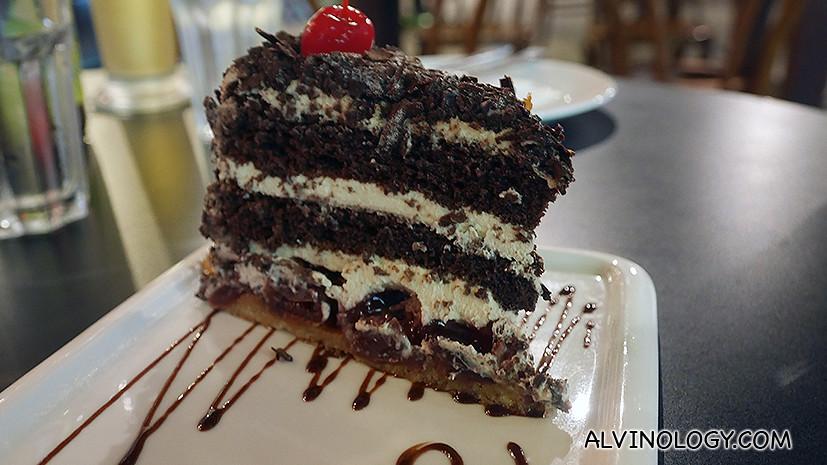 Signature Black Forst Cake (S$12)