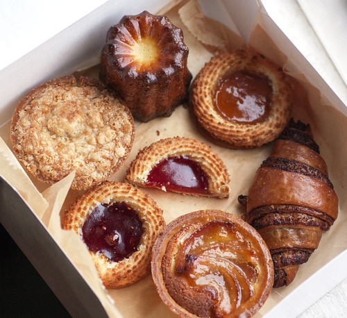 pastries @ breads bakery
