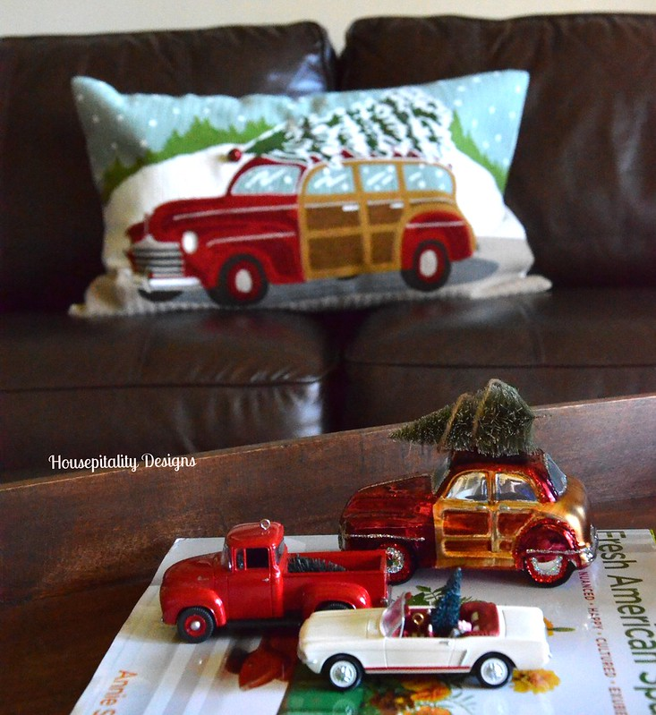 Cars and Trucks with trees-Housepitality Designs