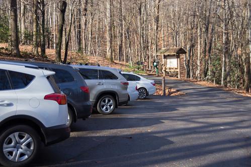 Raven Cliff Parking
