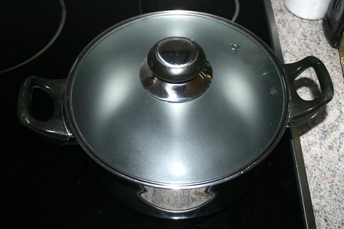09 - Wasser zum kochen bringen / Bring water to boil