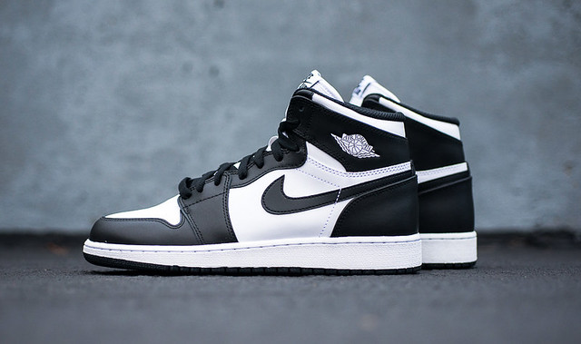 "#2 AIR JORDAN 1 HIGH OG ""BLACK WHITE"""