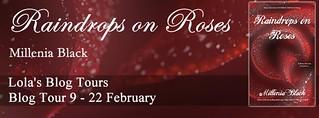Raindrops on Roses tour banner