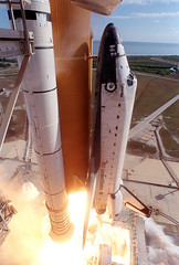 Close-up STS-107 Launch