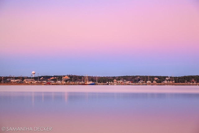 Pink Skies at Indian Neck Beach