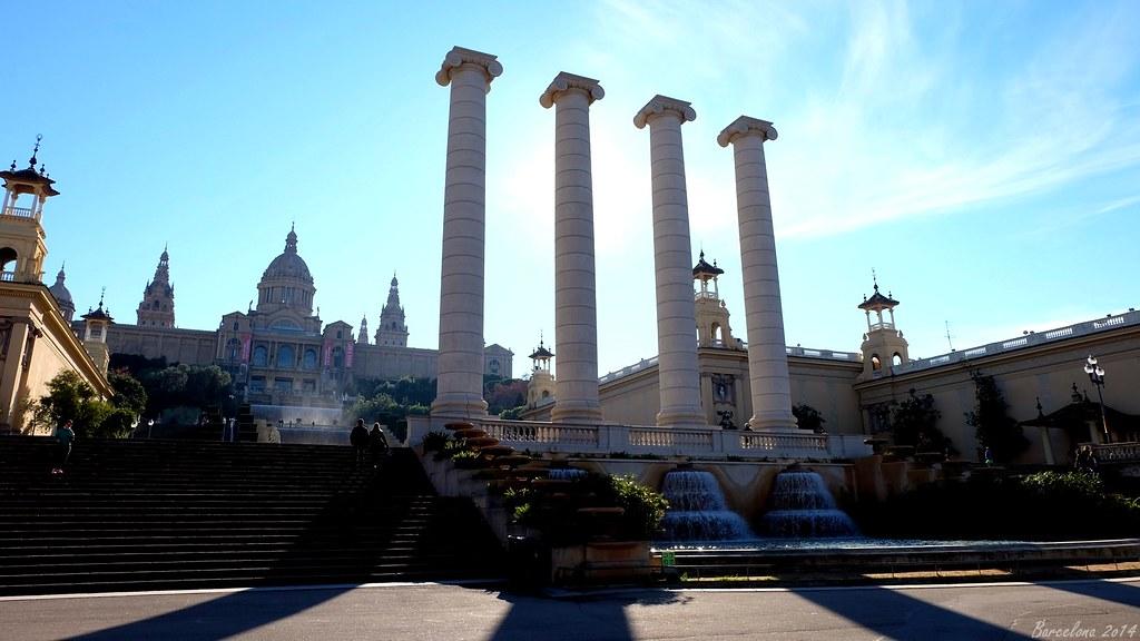 Barcelona day_3, Avinguda Reina Maria Cristina