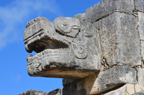 <p>Chichén Itzá, Yucatán, Mexico<br /> Nikon D5100, 70-300 mm f/4.5-5.6<br /> November 17, 2014</p>
