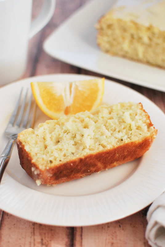 Meyer Lemon Zucchini Bread