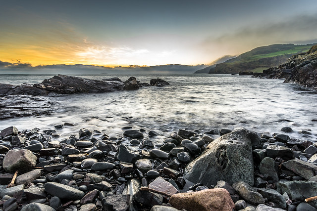 Sunrise in Torr Head, Northern Ireland