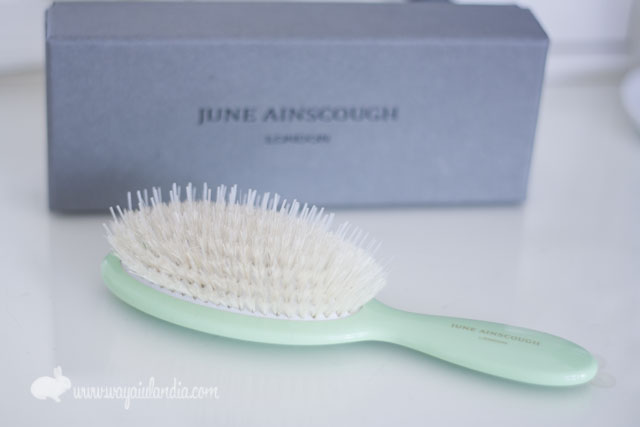 June Ainscough brush