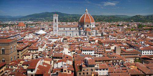 Italy - Florence - View from Palazzo Vecchio 02_panorama_DSC8834