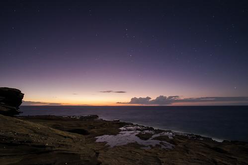 sunrise dawn hawaii oahu bluehour lanailookout