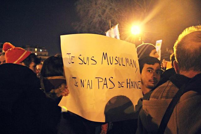 Je suis musulman, je n'ai pas de haine