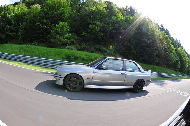 BMW M3 parade lap 13