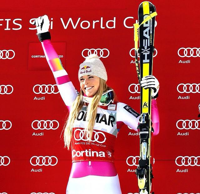 Lindsey Vonn Wins No. 62 in Cortina