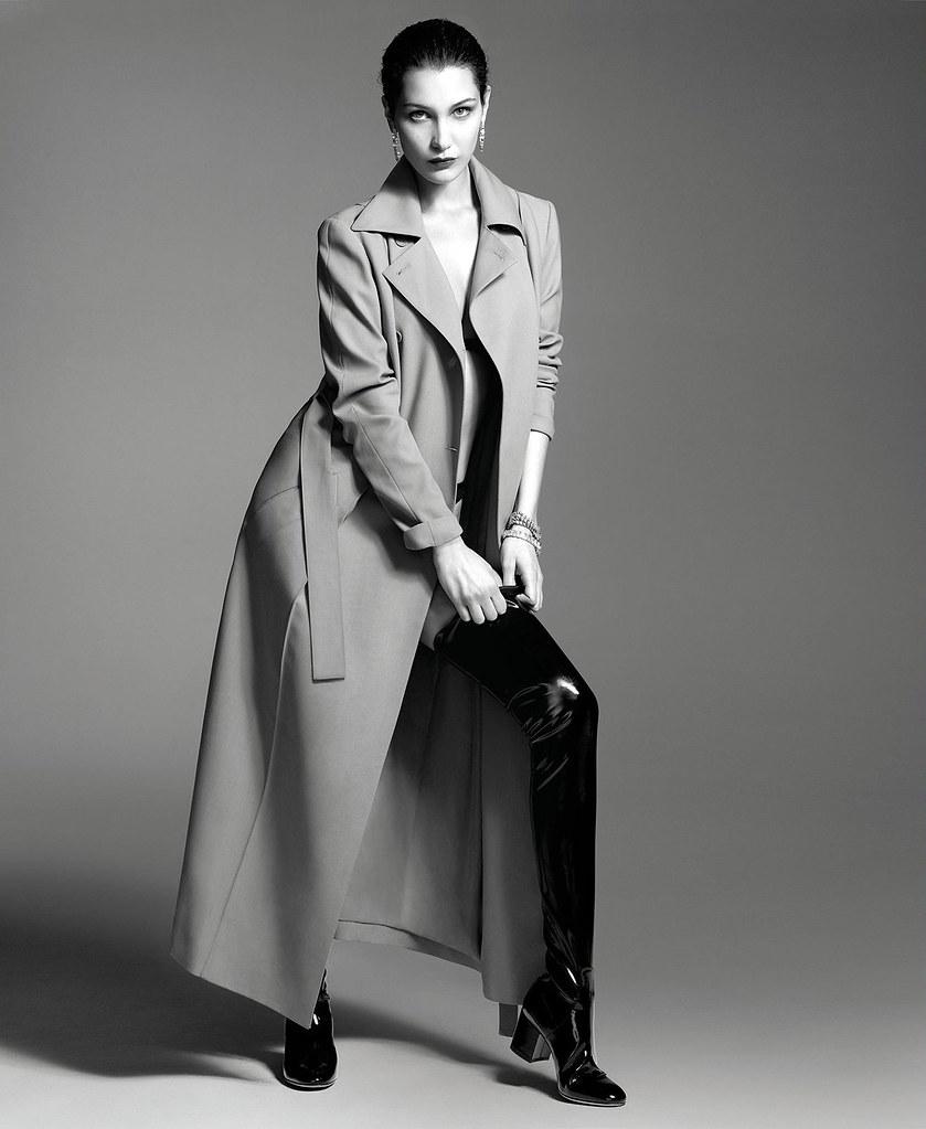 Белла Хадид — Фотосессия для «Elle» 2016 – 5