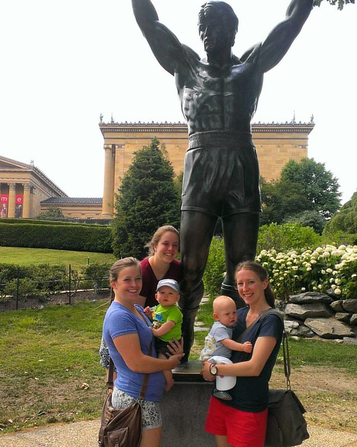 Rocky statue in Philly. 06.24.2016 #philly #PeytonandAiden