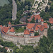 Medieval Castle, Harburg by Aerial Photography