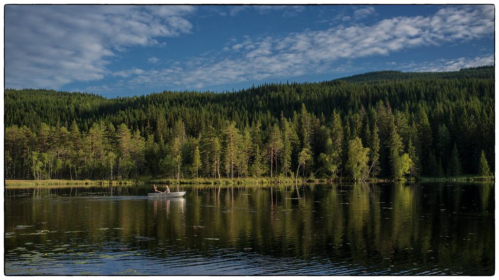 Sensommerkveld på Skrukkelisjøen #1