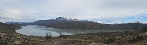Torres del Paine: trek du W. Jour 4: el Lago Grey.