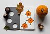 Halloween pumpkin Moleskine journal