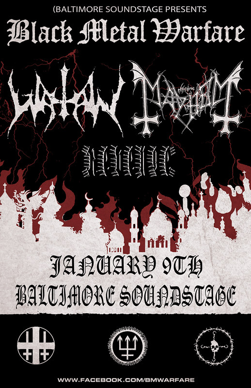 Watain at Baltimore SoundStage