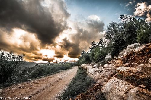 clouds israel jerusalem dramatic roads hdr itaybarlev itaybarlevphotographer