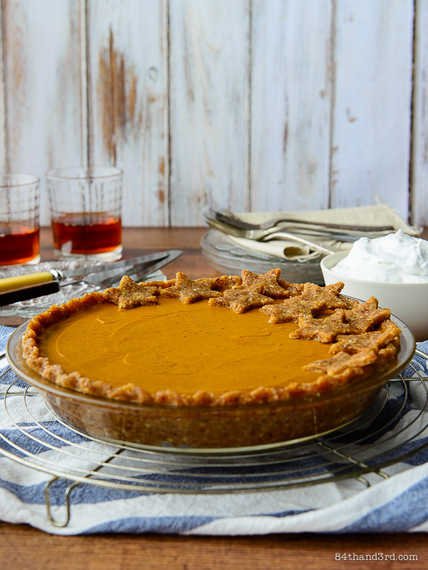 No-Bake Vegan Pumpkin Pie