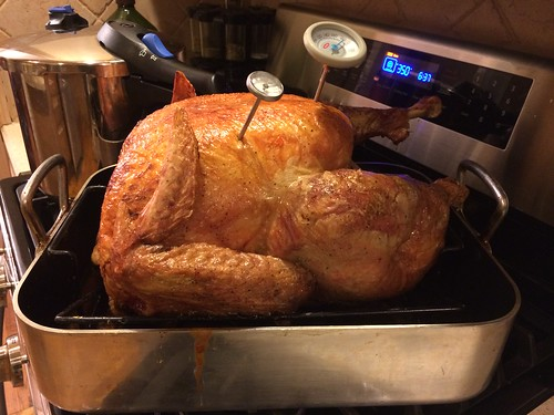 Roast turkey, Thanksgiving 2014