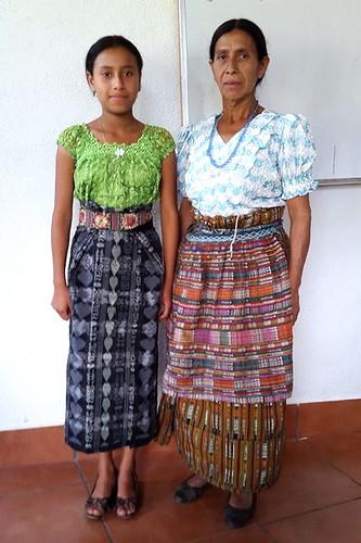 Telma Elizabeth Canajay y madre