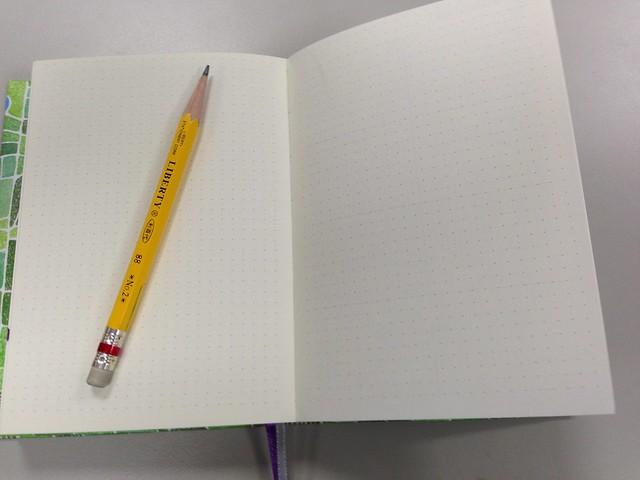 方格眼空白頁+比例尺@[文具/開箱] 集日美工 2015 手帳