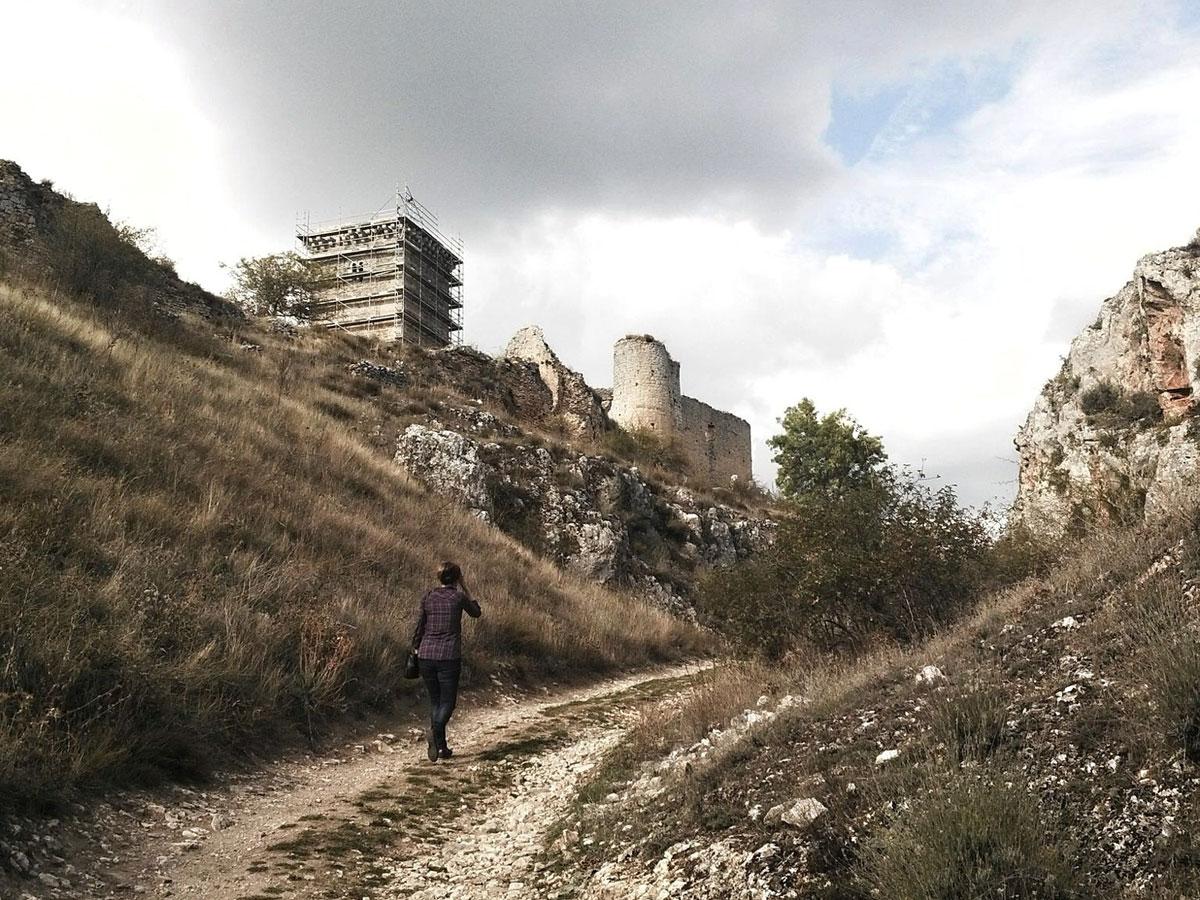 reharq_castillo ucero_soria_visita monumentos restauracion_IPCE_