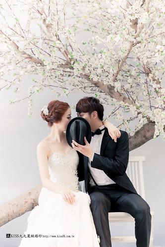 高雄KISS九九麗緻婚紗韓風婚紗攝影分享 (4)