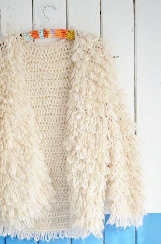 wood & wooly cardigan