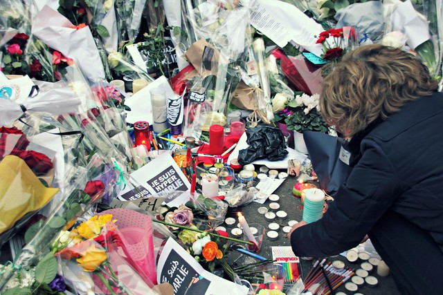 Flowers for Charlie Hebdo