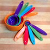 Oct 28 - graduation {graduated measuring cups & spoons} #photoaday #cooking #baking #kitchen #utensils #measuring #rainbow