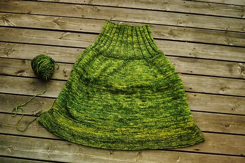 Jade poncho