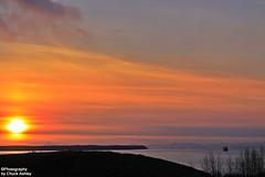Sailing Into The Alaskan Sunset W_7950