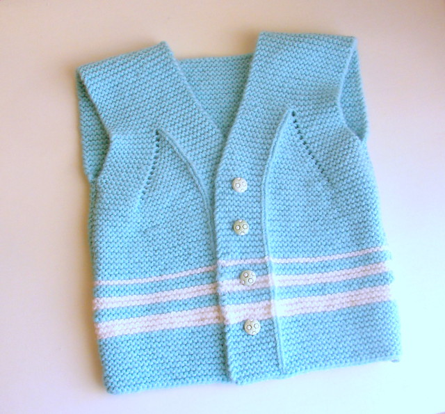 Easy Peasy Garter Stitch Vest For Baby Woolly Smile