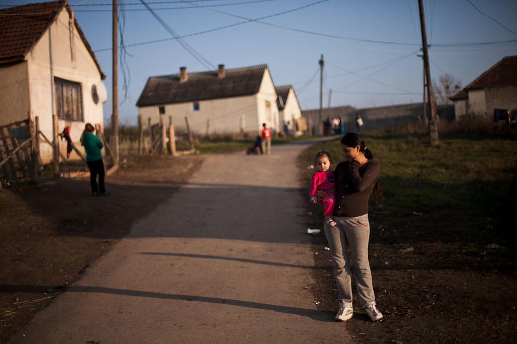 A Dankó Pista utca, az olaszliszkai cigánytelep | Fotó:Magócsi Márton