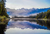 Mirror picture @Lake Matheson, NZ