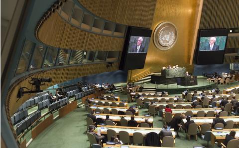 聯合國。UN Photo/Amanda Voisard